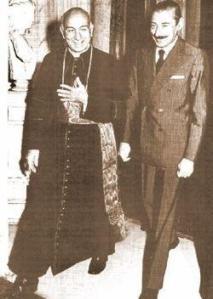 Falso Bergoglio con Videla #2